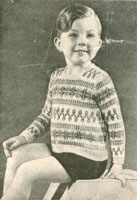 vintage childrens fair isle knitting patterns