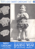 knitting pattern for boys fair isle cardigan 1930s