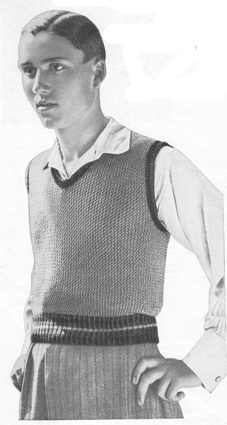 Vintage Mens knitting patterns available from Fab40s.co.uk