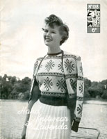 vintage knitting pattern for fair isle
