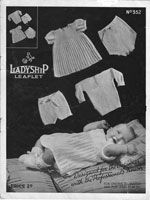 vintage ladyshop 352 knitting pattern dress  1920s