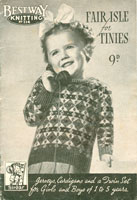 vintage childs fairl isle knitting patterns
