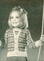 vintage childs fair isle knitting patterns
