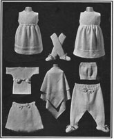 francine layette for baby from 1920s