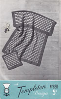 vintage baby cover blanket knitting patterns