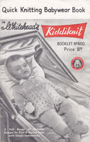 vintage baby layette knitting pattern vintage 1940 baby knitting patterns