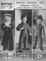 vintage milarty dolls knitting pattern for sale