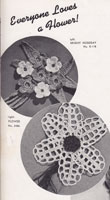 vintage crochet pattern flowers