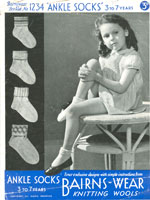 childs sock knitting pattern