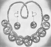 vintage crochet necklace pattern 1933