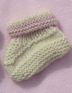 hand knitted baby clothes