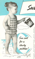 vintage swim suit for baby knitting patterns