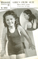 vintage swim suit for girls