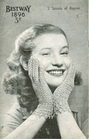 vintage ladies hat knitting pattern