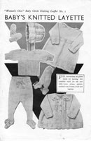 womans own layette no1 from 1930s