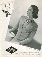 vintage cardigan for ladies knitting patterns