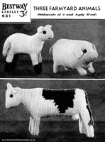 Knitted Toys Vintage Knitting Patterns